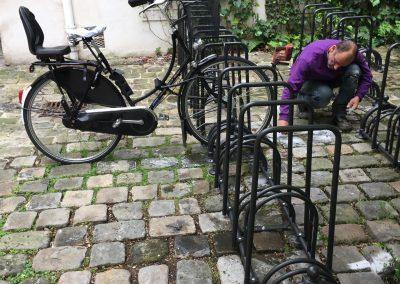 Installation rack à vélo co-propriété Etoile d'Or (1)-min