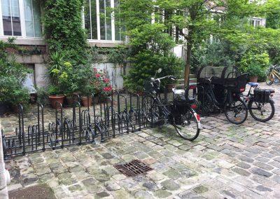 Installation rack à vélo co-propriété Etoile d'Or (4)-min